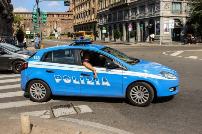 Policiers italiens. Image d'illustration.
