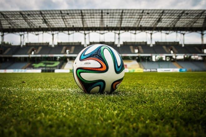 Un ballon de football. Image d'illustration.