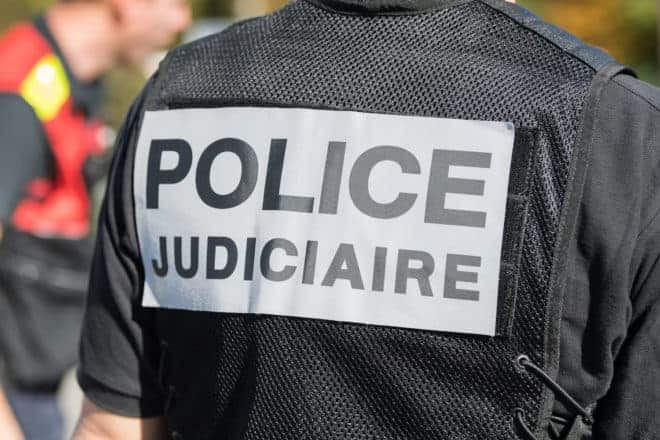 Illustration. La police judiciaire.