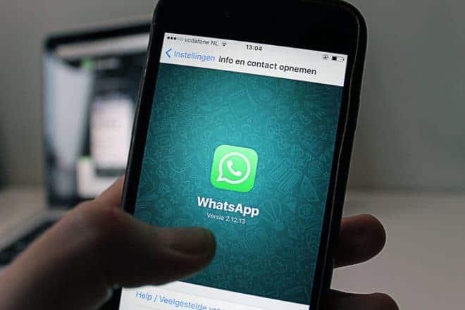 L'application WhatsApp.