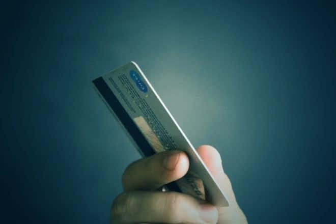 Illustration. Une carte de crédit.