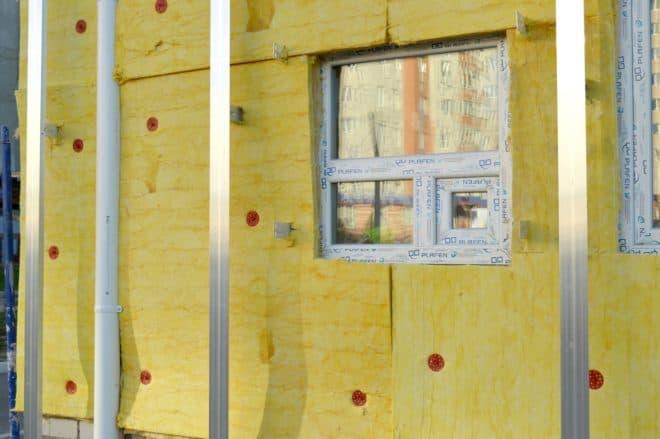 Illustration. L'isolation thermique d'une maison.