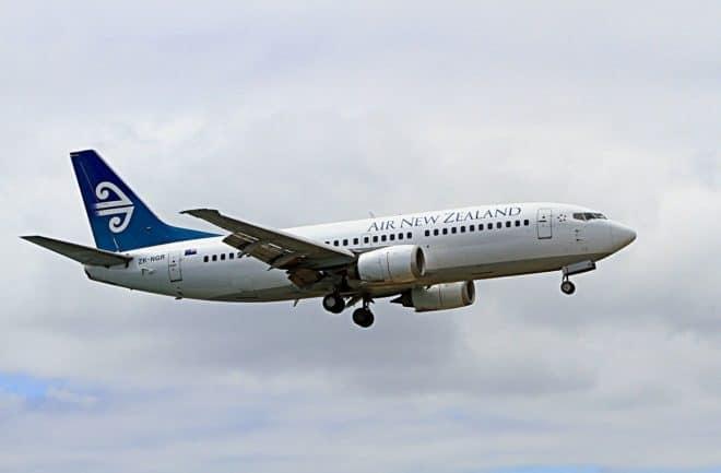 Un avion de la compagnie Air New Zealand.