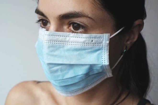 Illustration. Un masque de protection.