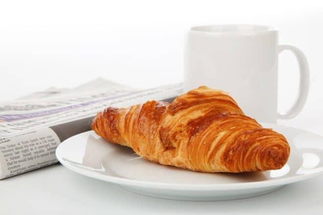 Un croissant. Image d'illustration.