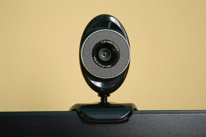 Une webcam. Image d'illustration.