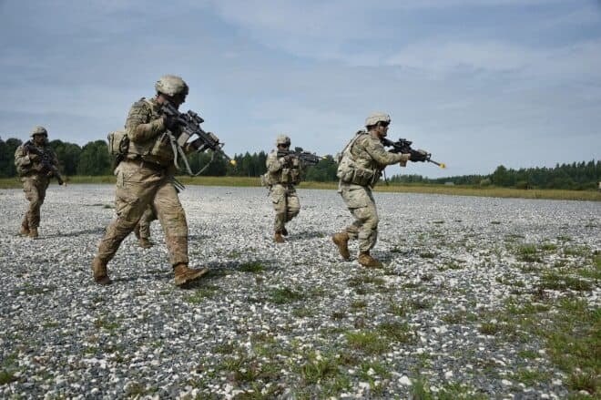 Des militaires. Image d'illustration.