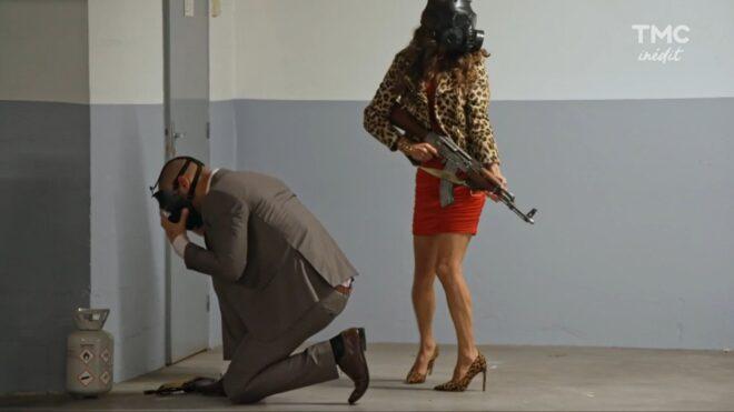 """Bruno et Ingrid (Les Mystères de l'Amour saison 26, épisode 3 """"Départ et retour"""")."""