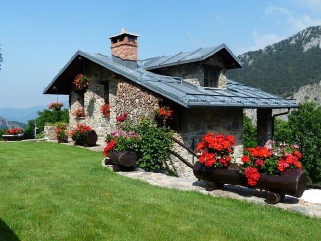 Une maison dans la nature