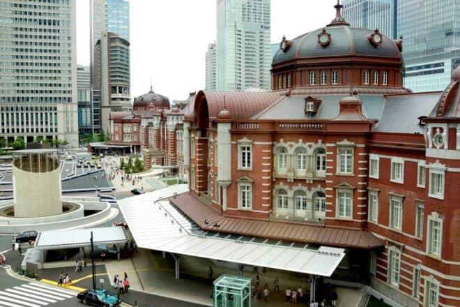 Gare de Tokyo, au Japon. Image d'illustration.
