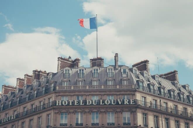 Un hôtel parisien