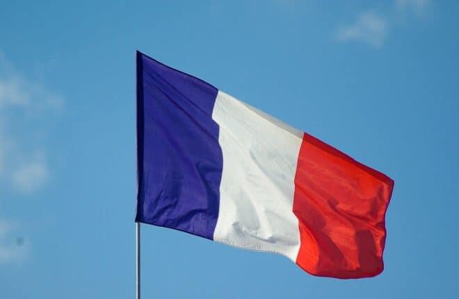 Un drapeau français. Image d'illustration.