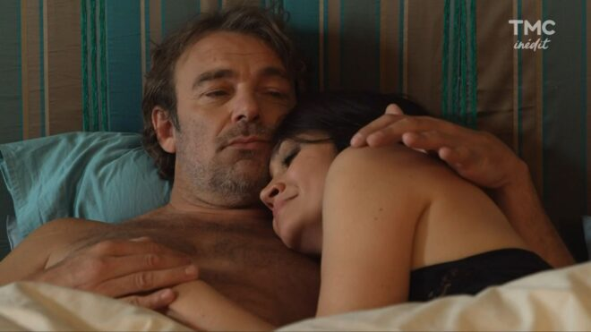 """Nicolas et Tania (Les Mystères de l'Amour saison 26, épisode 23 """"Comédie comédies"""")."""