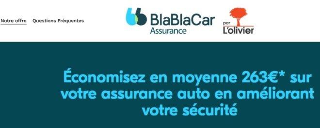 BlaBlaCar assurance.