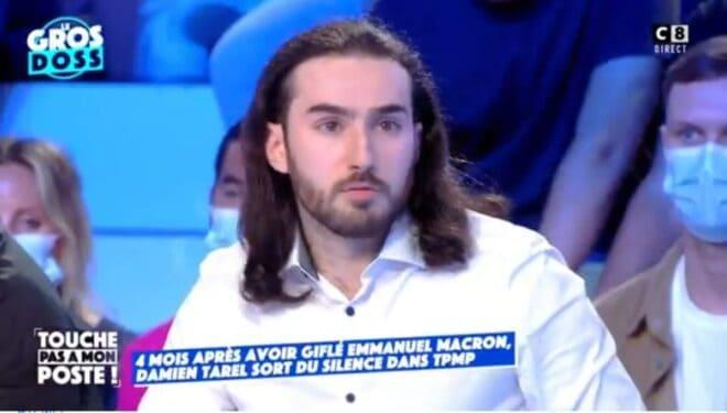 Damien Tarel sur le plateau de 'Touche pas à mon poste'
