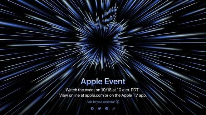 Rendez-vous le 18 octobre pour la seconde keynote d'Apple.