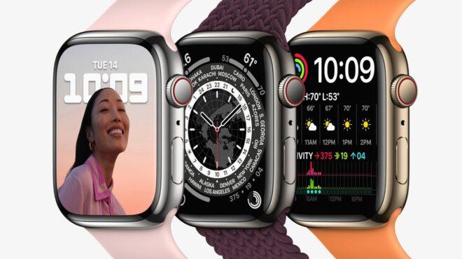 Les précommandes de l'Apple Watch Series 7 débuteront ce 8 octobre.