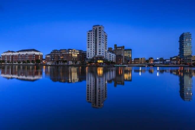 Photo d'illustration. Une vue de Dublin, capitale de l'Irlande.